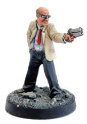 JudgeDread mobster figurine