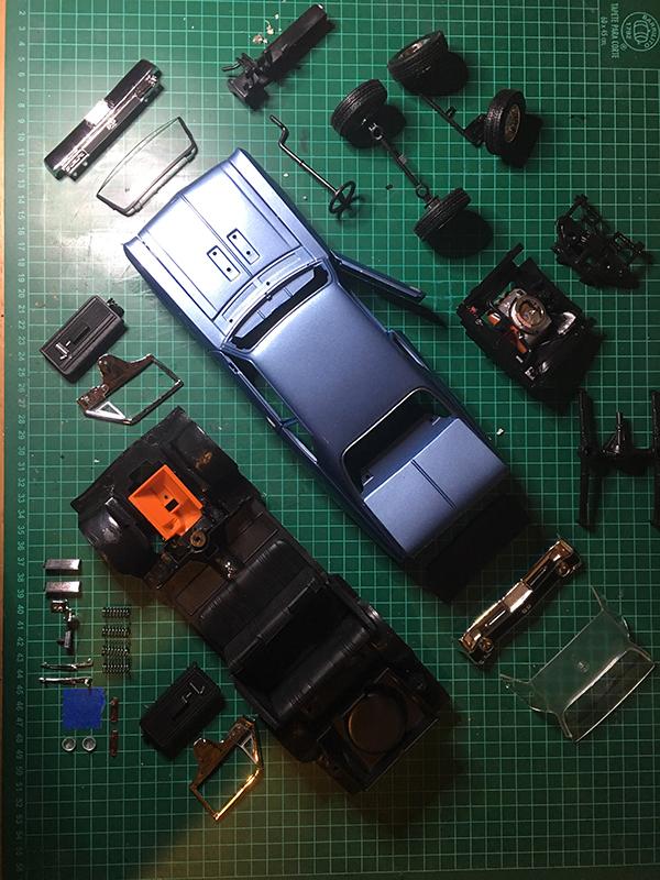 modele de base voiture miniature Chevy