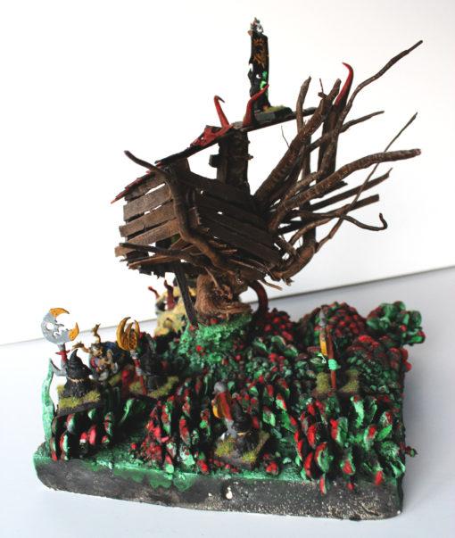 Cabane Hutte Gobelins Orks