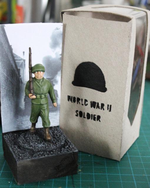 Figurine Soldat Américain WW2