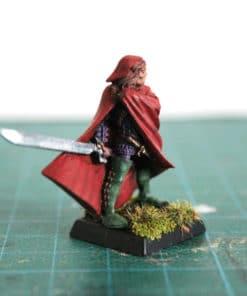 Aenur Mordheim elfe avec une épee