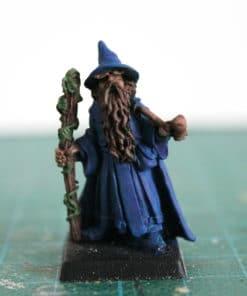 Figurine de magicien pour Wargame