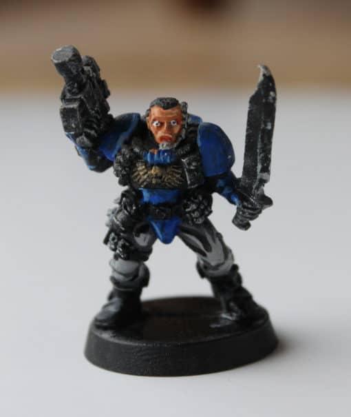 Figurine à vendre de Scoot Space Marine Warhammer 40000 40k