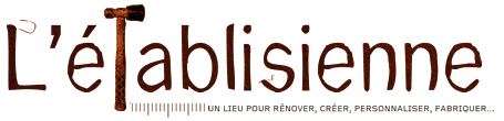 logo atelier de bricolage l'etablisienne Paris
